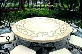 48 patio table round patio table bay in white dining 48 patio table cover