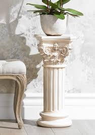 Roman Column Plant Stand Table 600x855