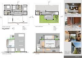 House Work Design Gallery Of Brick Curtain House Design Work Group 36