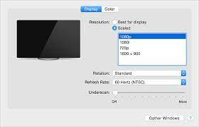 connect to hdmi from your mac apple