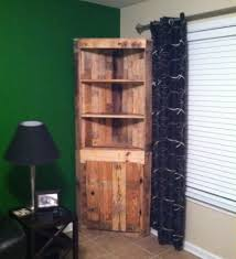 creative things to do with pallets. a corner cabinet made out of pallets things to do creative with