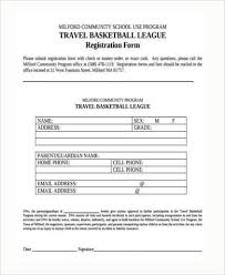 Sample Travel Registration Forms 8 Free Documents In Word Pdf
