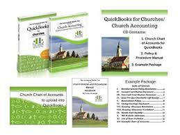 Sample Small Church Chart Of Accounts Amazon Com How To Use Quickbooks For Your Church With