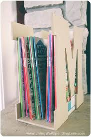 Cardboard Magazine Holder Diy Magazine Holders Excellent For Display Magazine Holder Diy 50
