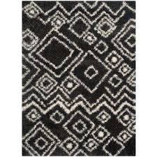 belize charcoal ivory 5 ft x 8 ft area rug