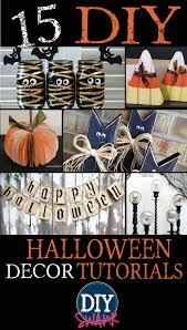 diy halloween decorations home. 15 DIY Halloween Decoration Tutorials Diy Decorations Home