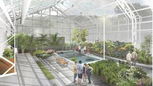 construction officially underway for new tropical greenhouse in gage park
