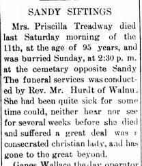 Priscilla Davis Treadway obituary 17 May 1907 - Newspapers.com