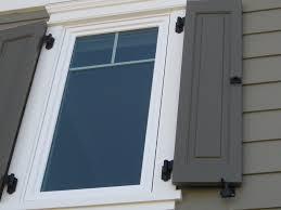 Photos Of Shutter Hardware Installation - Shutters window exterior