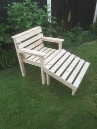 pallets garden furniture. Pallet Garden Chair Pallets Furniture O
