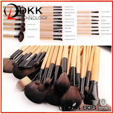 whole makeup brushes 24 best strong 24 pieces personalized red high
