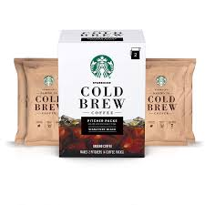 I know how uncomfortable the acidity from most hot coffees can be, especially on an empty stomach. Starbucks Cold Brew Coffee Signature Black Pitcher Packs 8 6 Oz Pack Of 3 Amazon Com Grocery Gourmet Food