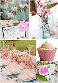 colorful spring party theme ideas beautiful unique wedding