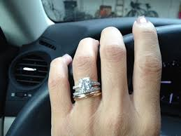 cartier wedding rings. Cartier Trinity Ring as engagement ring