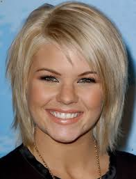 Photo Gallery Of Medium Hairstyles For Thin Fine Hair And Round Face