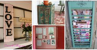 13 diy projects you can make from old window shutters 9 is a perfect towel rack