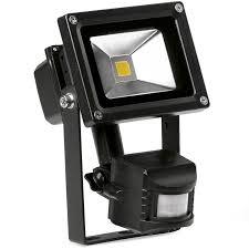 helius lighting. Enlite EN-FL10PIRA 40 Helius 10W LED Floodlight PIR Black IP65 Adjustable 4000K 750lm Lighting