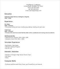 Beginner Resume Templates Blockbusterpage Com