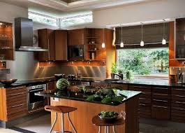 L Shaped Kitchen With Island Design