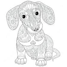 Hard Dog Coloring Pages At Getdrawingscom Free For Personal Use