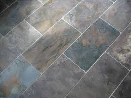 A Beautiful Natural Slate Flooring Solution Soothing And Cool To