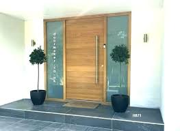 contemporary wooden front doors contemporary exterior doors