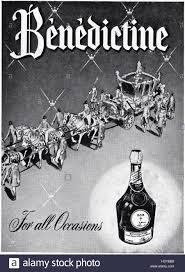 Пару постеров старой рекламы алкоголя. Бенедиктин История,Алкоголь,Ликеры,Реклама