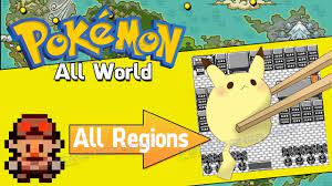Liked on YouTube: Pokemon Allworld is a Fanmade game with All Regions -  Gameplay - Download on Pokemoner.com