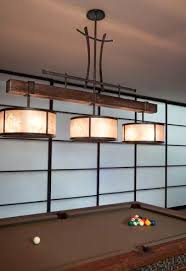 Games room lighting Gaming Game Room Lighting Using Wood Steel And Mica This Pool Light Extends Organic And Eastern Influences Game Room Lighting Wave Av Installations Game Room Lighting Best Setup Of Video Game Room Ideas Guide With