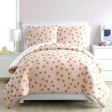polka dot comforter set bedding sheets dotty 3 piece pink crib gold twin
