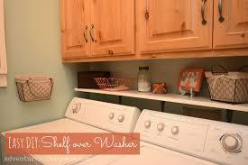 Easy Laundry Room Makeovers Laundry Room Shelves Diy