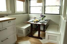White Breakfast Nook Corner Breakfast Nook With Storage Bradcarterme