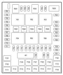ford f 150 11th generation (2004 to 2008) fuse box diagrams 2004 F150 Fuse Box description and amperage 2004 f150 fuse box diagram