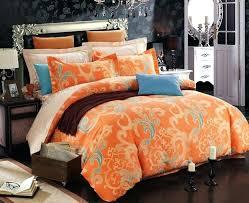 grey and orange bedding orange comforter set queen with regard to bed bedding com remodel 1