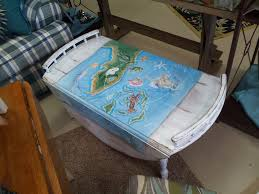 tropical painted furniture.  Furniture Tropical Painted Furniture Vintage Chair With Real Milk On A