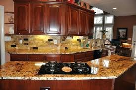 Kitchen Backsplash With Granite Countertops Best Kitchen Countertop And Backsplash Ideas Granite And Tile Ideas