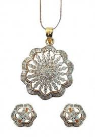 diamonds pendants sets