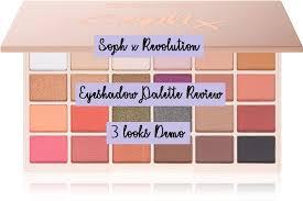 makeup revolution brown eyeshadow