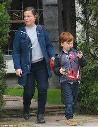 Amy Poehler Birth Plan Amy Poehler Picks Up Adorable Son Abel From Weho Play Date Daily