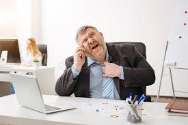 hot office pic. Download Overweight Distressed Office Worker Experiencing Heat Exhaustion Stock Photo - Image Of Employee, Adult Hot Pic Y