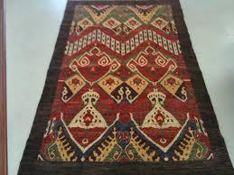 flooring ideas with ikat rug