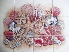 Decorative Tile Frames Decorative handmade ceramic tile of Mermaid F100 gift for her 73