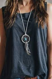 dream catcher necklace! I would LOVE to have one of these <3  Diy ...