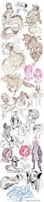 sketch dump of randomness by ari on deviantart