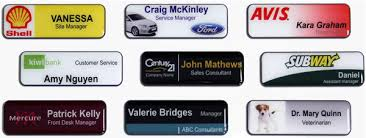 Sample Name Badge Cover Name Badges Awards Trophy Engraving Experts Awards