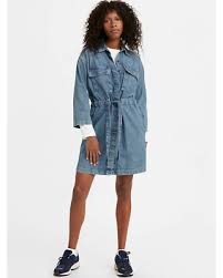 Amazing Sales on <b>Levi's Ainsley Utility Denim</b> Dress - Women's M