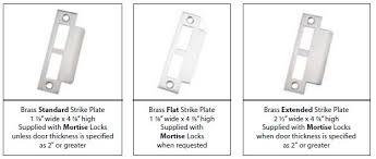 schlage extended strike plate. Fine Strike Mortise Lock Strike Plate On Schlage Extended 4