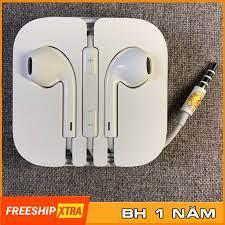 Tai Nghe Iphone 6 6s Plus Chân Tròn 3.5mm Chính Hãng Bảo Hành 12 Tháng - Tai  Nghe Bluetooth Nhét Tai