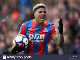 Crystal Palace's Patrick van Aanholt reacts during the Premier League match  at Selhurst Park, London Stock Photo - Alamy