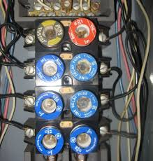 fuses massachusetts home inspections electrical fuse panels screw in type fuses in the electrical distribution panels were in common usage until the mid 1950s fuses although inherently safer